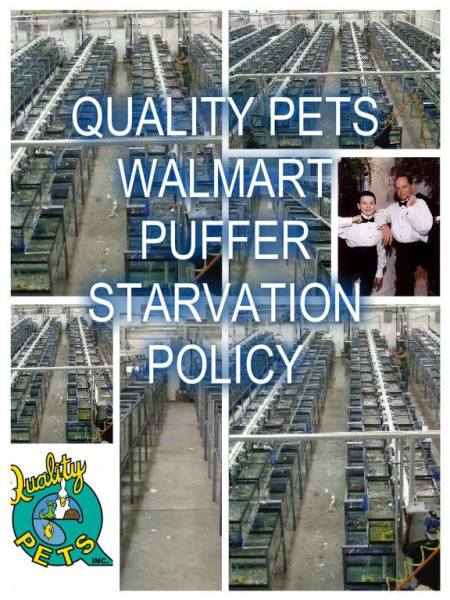Quality Pets Inc lies to Walmart