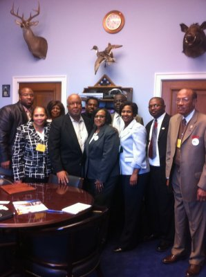 Congressional visit with Bennie Thompson-MVSU-Upward Bound