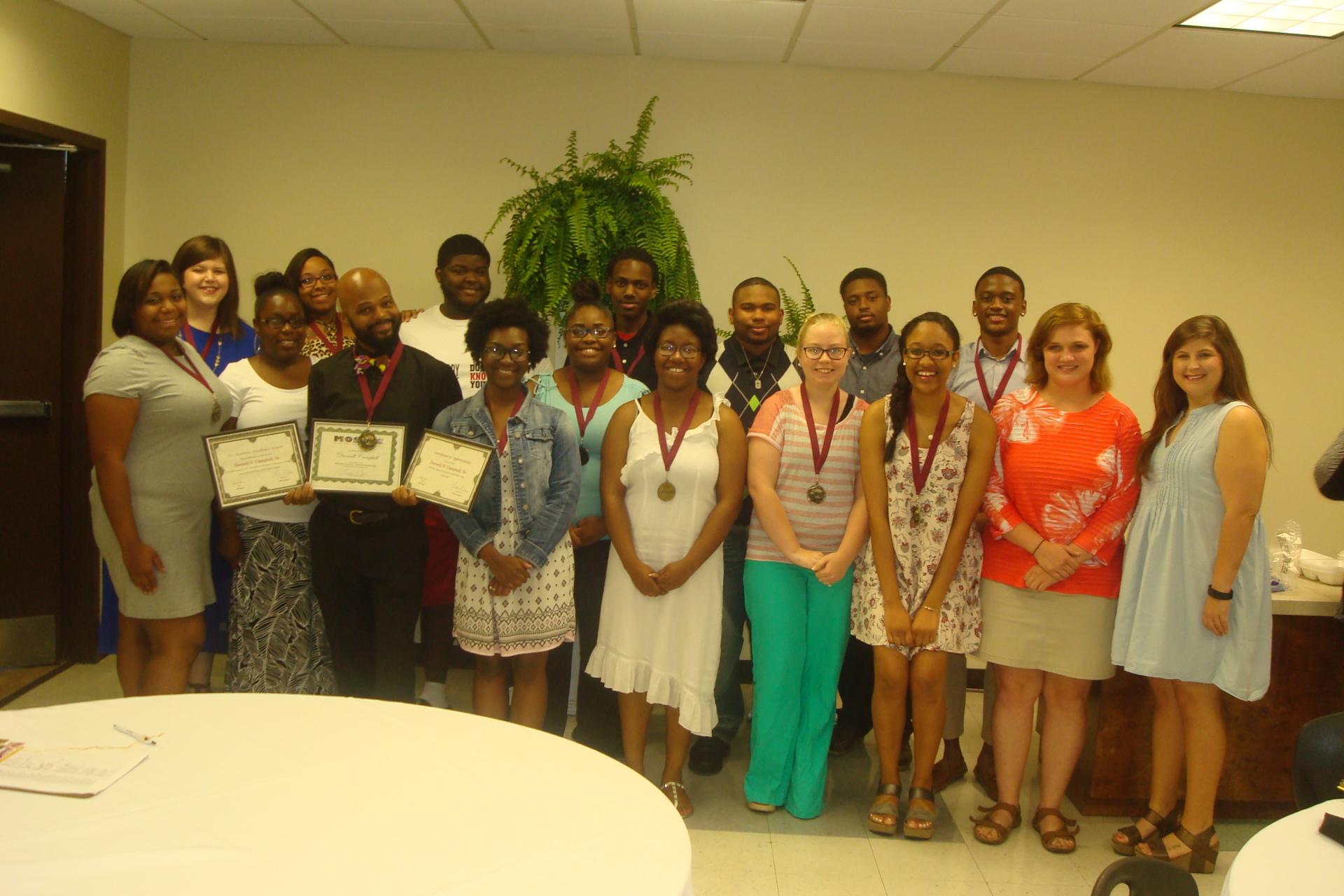 Holmes CC SSS Award Recipients