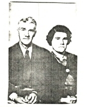 Steve Simon's Grandparents, Jean Eddie Gautreau and Eva Lantier Gautreau
