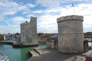 Port at La Rochelle, France