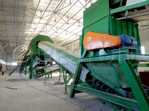 The Role Of A Municipal Solid Waste Sorting Machine In City Waste Management