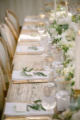 Simply Stunning Weddings. white donut wall