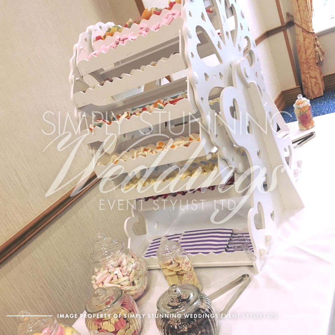 Ferris Wheel - Sweet table hire.Simply Stunning Weddings - Event Sylist Ltd. Venue Dresser. Solihull