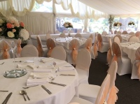 Simply Stunning Weddings - Event Stylist Ltd. the limes, chair covers. venue styling