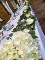 top table flowers,
