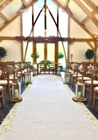 Aisle Runner. Ceremony Styling