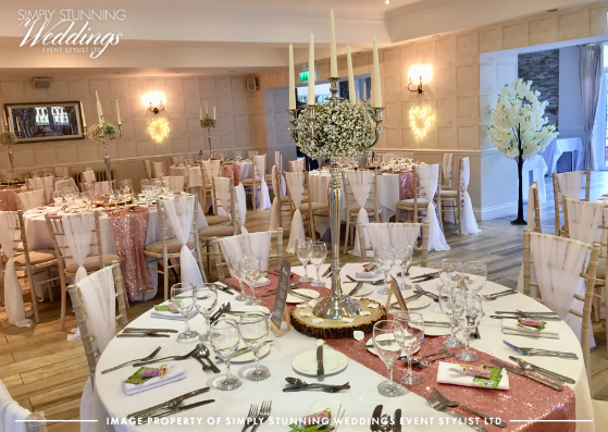 Complete Venue Styling at Nuthurst Grange