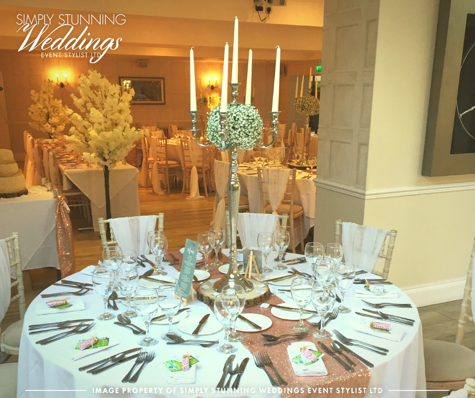 Venue Dressing at Nuthurst Grange