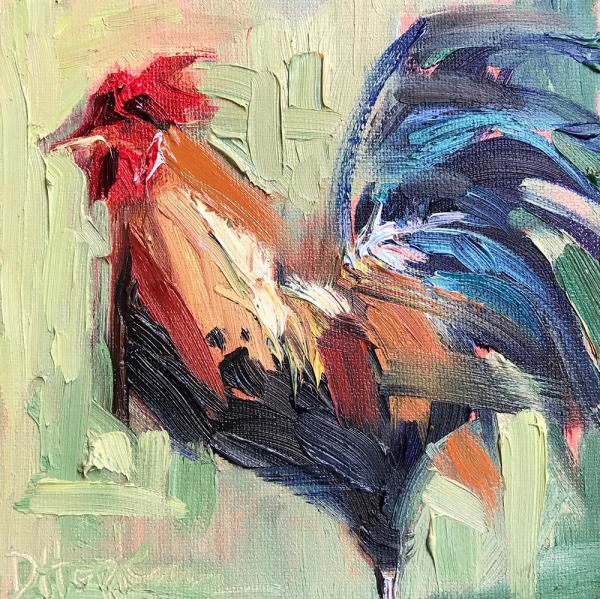 Sketchy Rooster