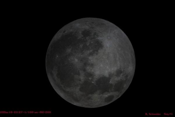 Lunar Eclipse 1 Dec 2010