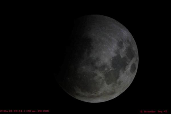 Lunar Eclipse 2 Dec 2010