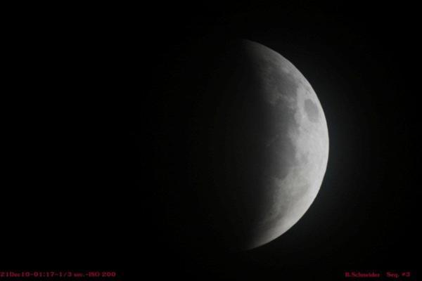 Lunar Eclipse 3 Dec 2010
