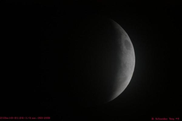 Lunar Eclipse 4 Dec 2010