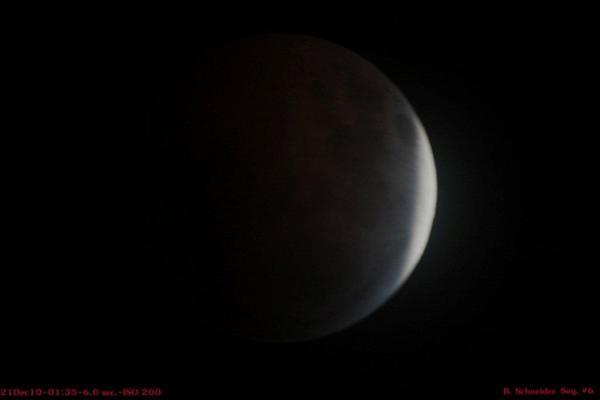 Lunar Eclipse 6 Dec 2010