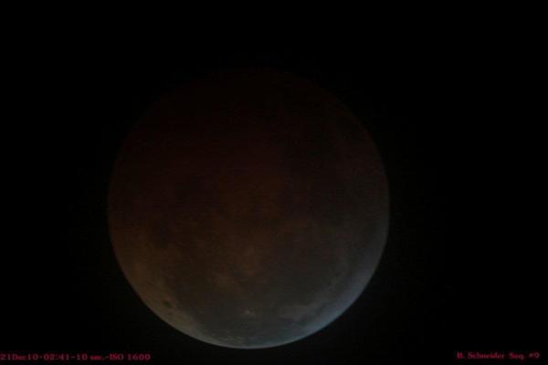 Lunar Eclipse 9 Dec 2010