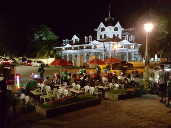 Silliman Hall - from Boulevard night life