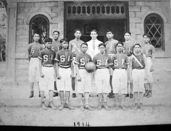 Basketball team - 1914