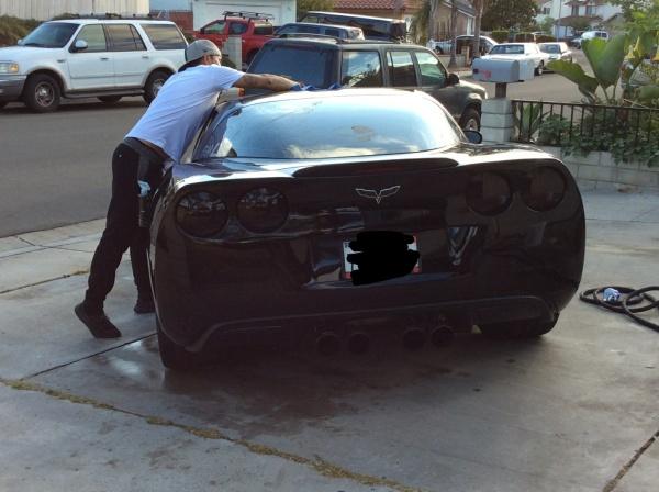 2009 Corvette Making It Clean
