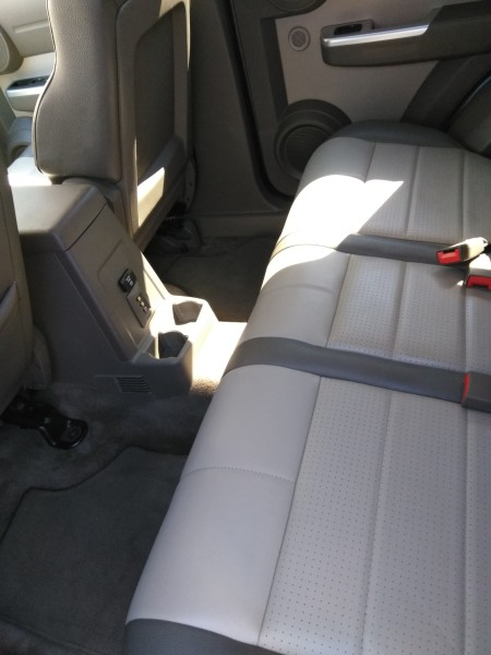 JEEP Interior Leather Clean (AFTER)