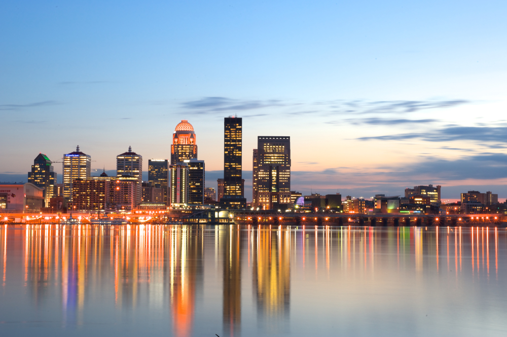 Louisville Kentucky skyline, Stanley Law Louisville is located in Louisville Kentucky and offers Estate Planning Services, Wills, Trusts, and other Law and Attorney Services, Probate, Molly Bee Stanley, Attorney at Law