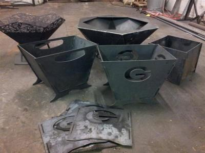 Fire Pit, CNC Cut, Outdoor Room,