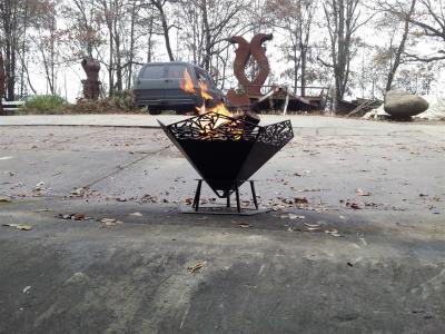 Fire Pit, CNC Cut, Outdoor Room, Unique