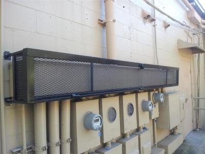 #ACCages, Solid Steel Cage, Electrical Cover, Copper Theft Prevention