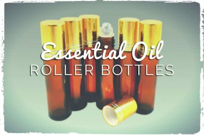 Let's Make Essential Oil Roller Bottle Blends!