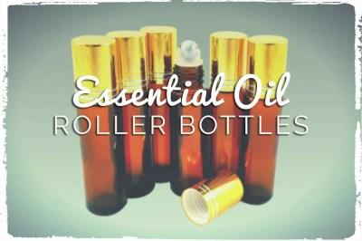 Let's Make Essential Oil Roller Bottle Blends!