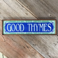 Personalized Signs and Sayings, Garden Sayings, Custom Signs for the Home and Garden, Play on Words, Gardening Puns, Decorative Wood Signs