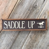 Wood Signs, Horse Decor, Horse Signs, Motivational Sayings, Saddle Up, Chevron Stencil, Horse Stencil, Horse Wall Decor, Signs for the Barn