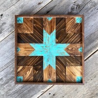 Pieced Wood Wall Art, Modern Rustic Wall Decor, Home Decorating Ideas, Handmade Wall Art, Boho Style Wall Decor, Bohemain Wall Art