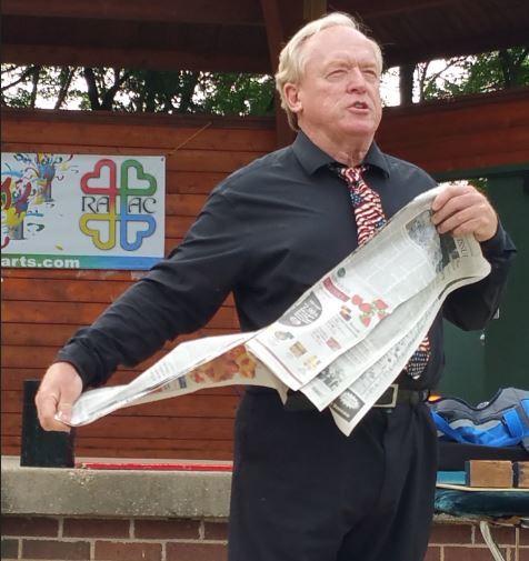 Magician Craig Olson