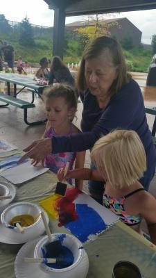 Kids Art in the Park June 18