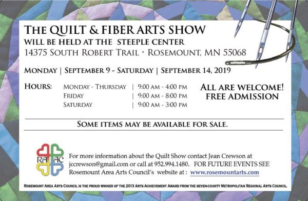 Quilt and Fiber Arts Show