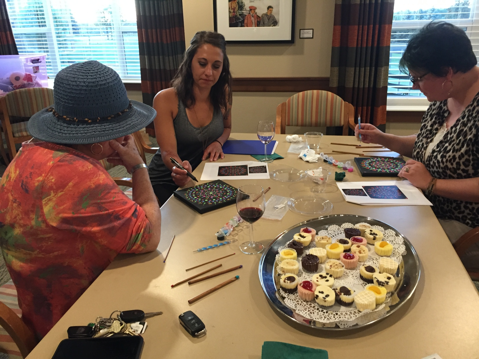 Mandala Painting Wed. 6/26