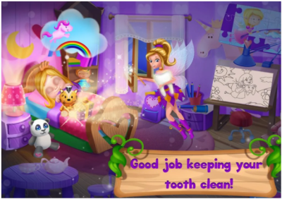 FREE tooth fairy games full of wobbly teeth
