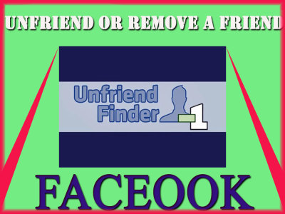 How to Unfriend or Remove A Friend in Facebook