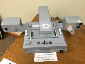 Digital Microfilm Reader