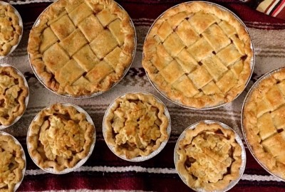 "Traditional Full (9"") and Mini (6"") Pies"