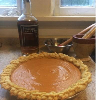 Whiskey Sweet Potato Pie w/ Specialty Crust