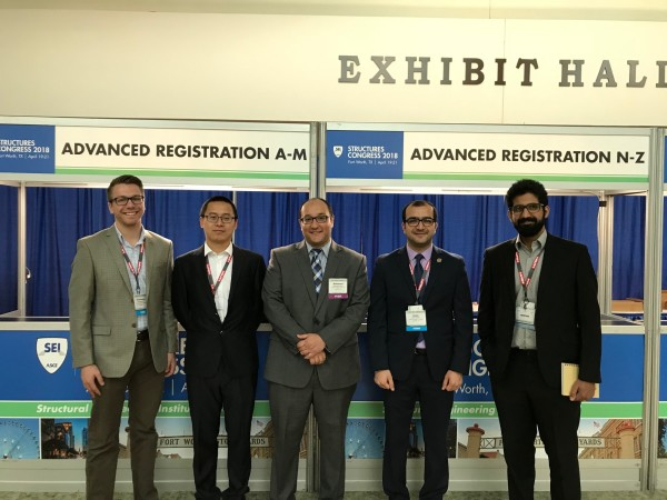 Group at ASCE Conference 2018