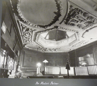 Photograph of the Master's Parlour (circa 1930s)