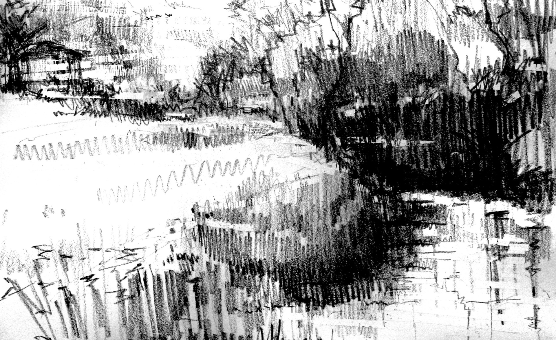 THE RIVER FROME AT  FRESHFORD