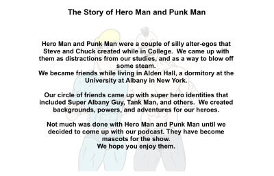 The Story of Hero Man and Punk Man