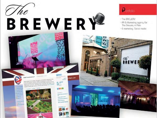Social media agency for The Brewery during the London Olympics in China and Asia