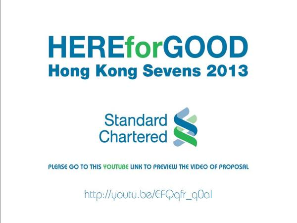 Motion graphics and video production for Standard Chartered HK Rugby Sevens