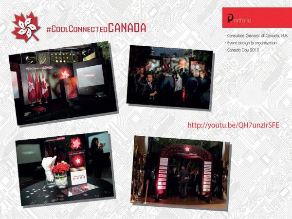 Design, Event and Production Agency for the Canadian Consulate in Hong Kong & Macau