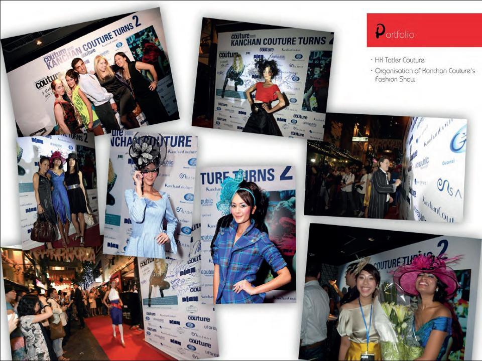 Design, Event and Production agency for live fashion show in Lan Kwai Fong, Hong Kong, LKF